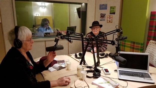 Op 10 november waren Peter en ik te gast bij Joanita Lindveld van Radio SuriMama