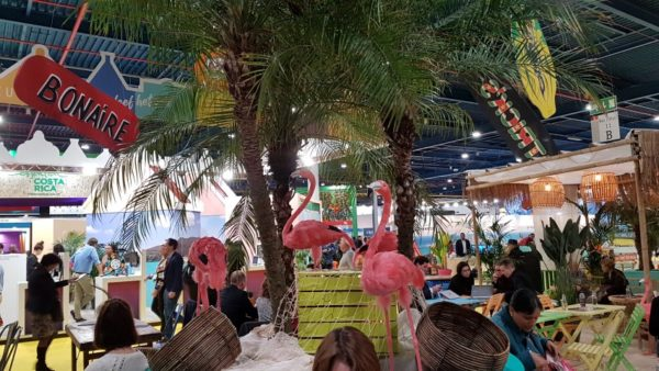 Horecaterras Bonaire, vakantiebeurs 2020