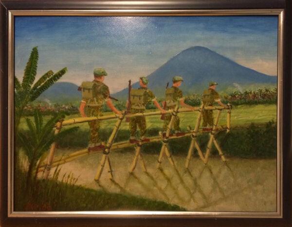 Henk Menninga, patrouille
