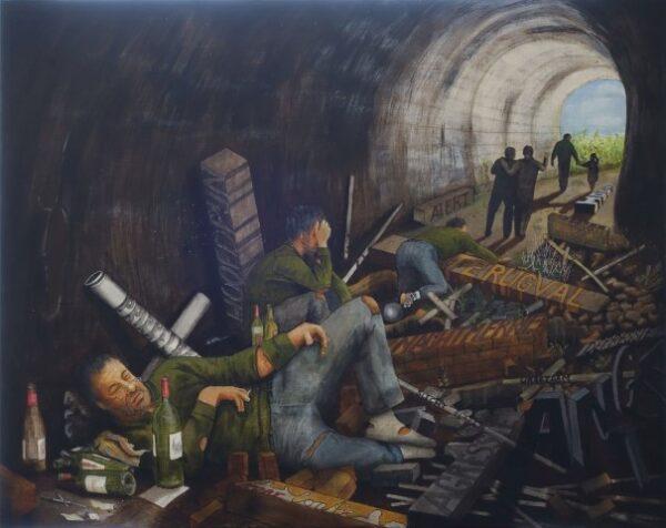 Veteranen en kunst, Jos Gilessen, de tunnel