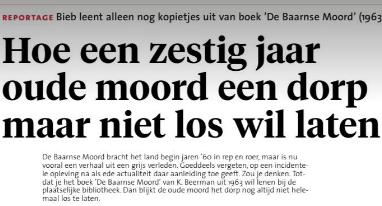 Doofpotaffaire De Baarnse moordzaak, de Gooi en Eemlander 5 december 2020, Eric Lorier