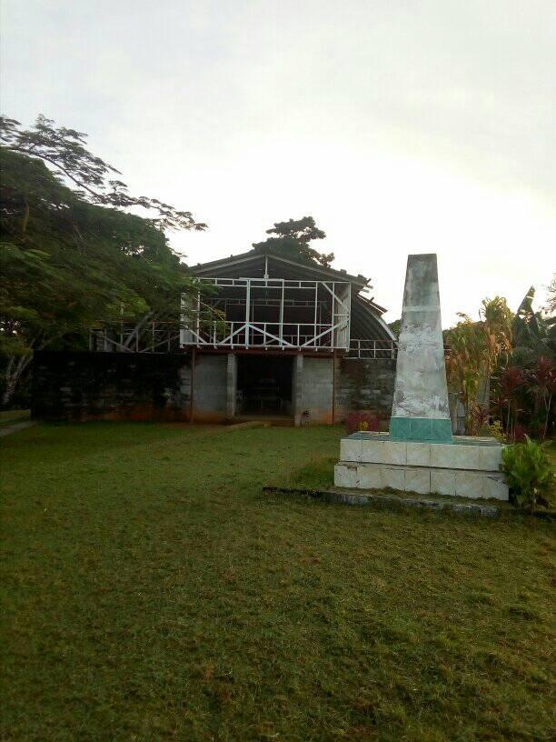 De huidige kerk van Bundralis.