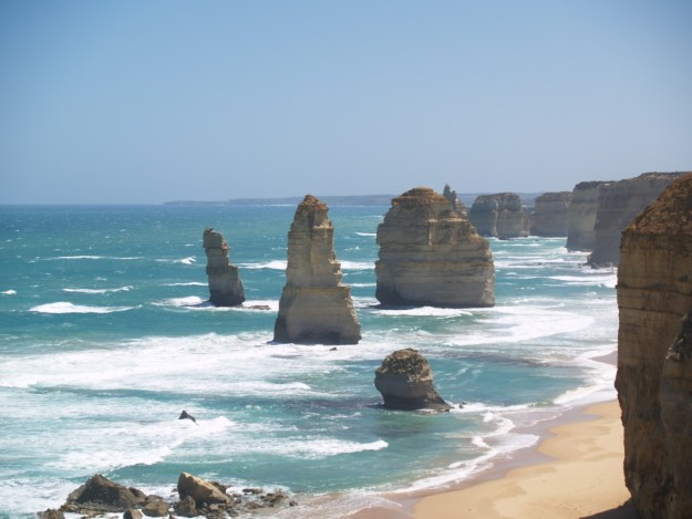 foto Great Ocean Road, uit: Maria Douwes, Terug naar Australië