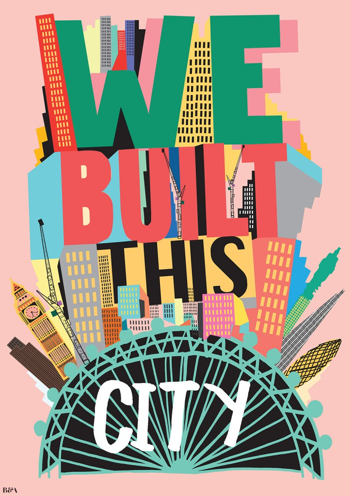 We Built This City. Londen Souvenirs
