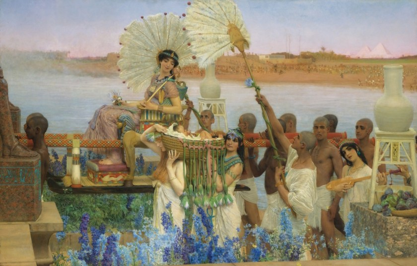 Alma Tadema | Finding Moses | 1904
