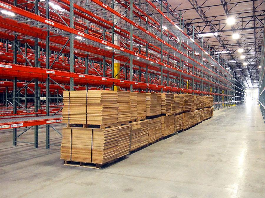 wire deck warehouse pallet rack wire