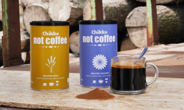 Chikko Not Coffee Sfeerbeeld met kop koffie