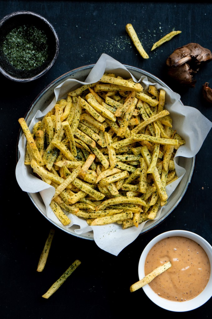 "Umami French fries with seaweed salt ""width ="" 1200 ""height ="" 1800 ""/> </figure data-recalc-dims="