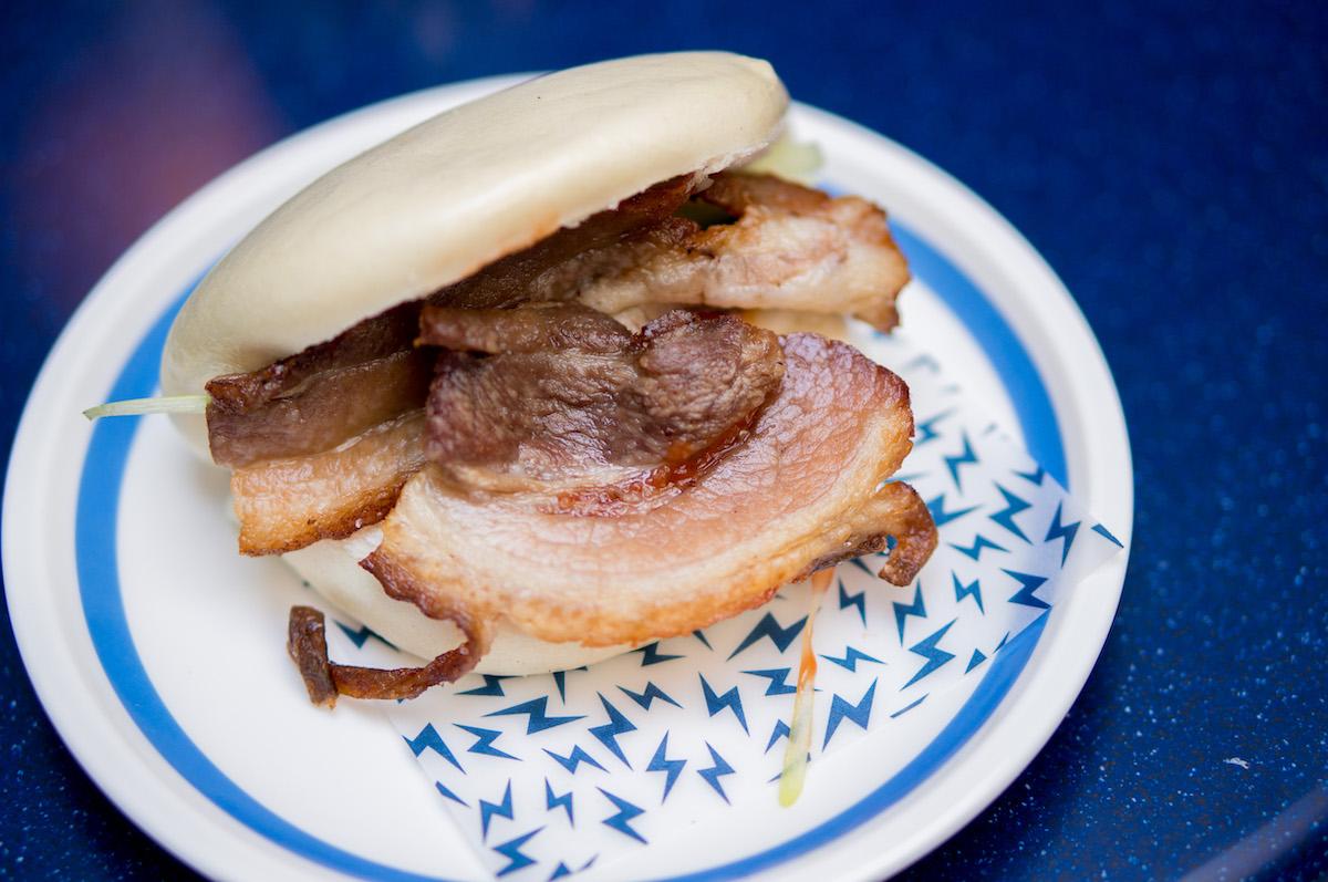 Bacon bao bij Super Lyan