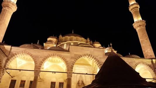 Fatih Camisi Yatsı Ezanı