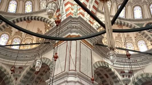 Fatih Camii İç Görünüm