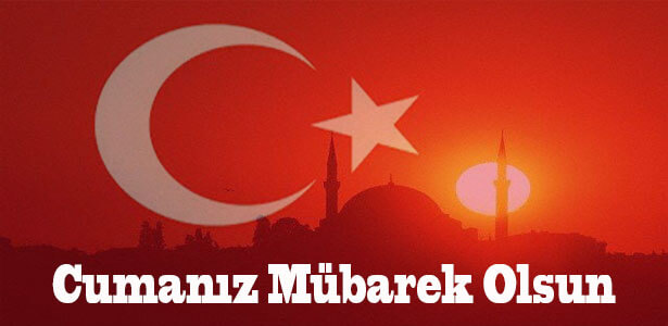 türk bayraklı cuma akşamı mesajları