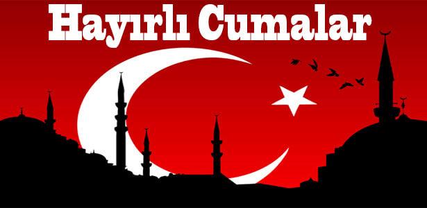 hayırlı cumalar türkiye bayraklı