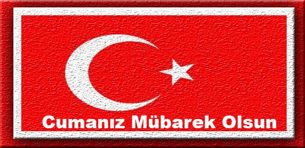 yeni türk bayraklı cuma mesajlar