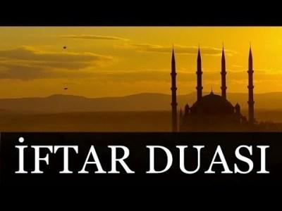iftar duaları