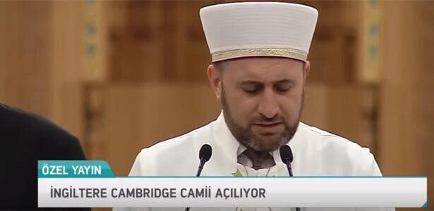 Cambridge Camii Açılışı