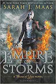 Empire of Storms (Throne of Glass) by Sarah J. Maas