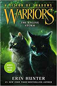 Warriors: A Vision of Shadows #6: The Raging Storm by Erin Hunter