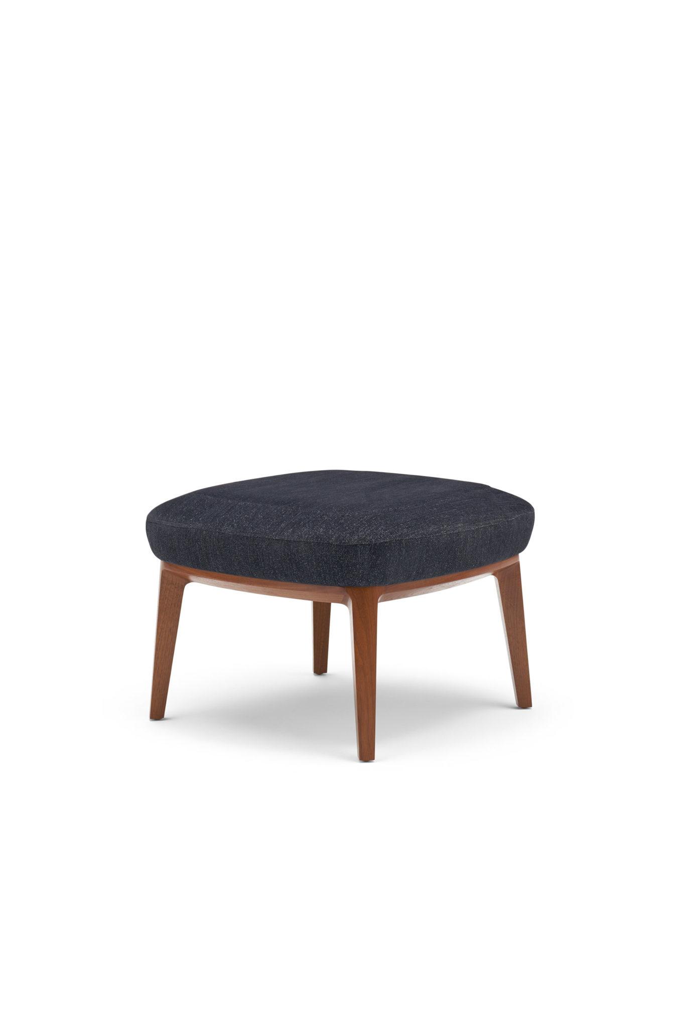 clover wood low stool cumberland furniture