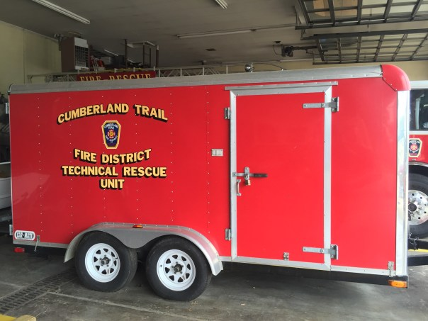 Technical Rescue Trailer