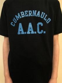 Cumbernauld AAC Club training t-shirt