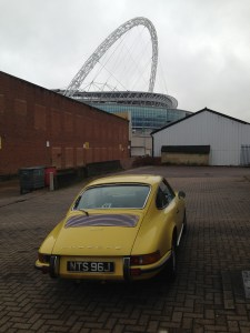 Leaving the 911 at Jaz Porsche