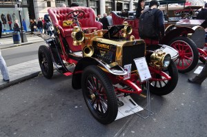 Genevieve. Watch the 1953 film of the same name starring this wonderful 1904 Darraq, a 1904 Spyker (and some actors)