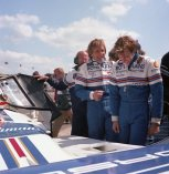 Derek Bell & Stefan Bellof at Silverstone 1000kms - 13th May 1984