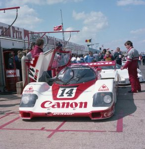 GTi Engineering Porsche 956 106 driven by Jonathan Palmer and Jan Lammers