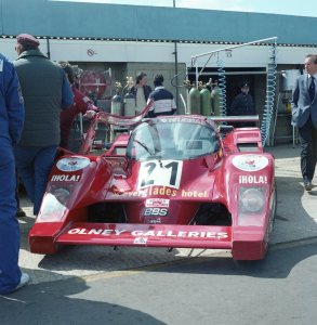 Charles Ivey Racing Grid S2 Porsche GA02 driven by John Cooper, Dudley Wood and Barry Robinson