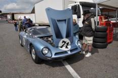 Racing Bizzarrini Strada at Brands Hatch