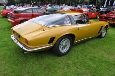 Handsome rear end of the Iso Grifo
