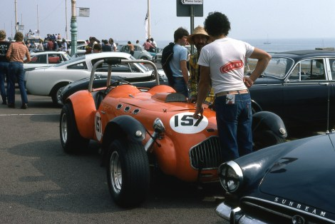 Allard J2 at Brighton Speed Trials
