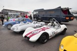 Elva Gathering at Donngton Historic Festival 2015