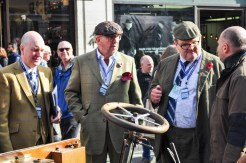 Ross Brawn Inspects the Isotta Fraschini
