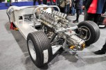 Engine & transmission in new XJ13 chassis