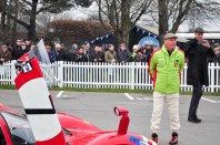 Richard Attwood in fetching period Porsche jacket