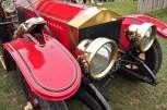 Serpentine Horn on Vintage Roller