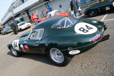 '63 E-Type Jaguar driven by Read Gomm & Andrew Keith-Lucas
