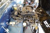 Cosworth tuned Ford engine i the spacious Talisman engine bay