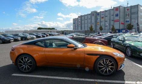 Shiny new Aston of some descriiption