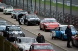 Lining up for the race