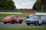 Climbing through the filed at Luffield