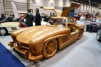 Wooden Mercedes 300SL Gullwing