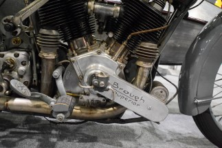 Brough, JAP and Sturmey Archer. Great combination.