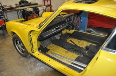 Ready to re-fit doors and seats