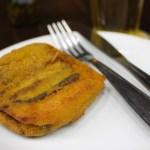 Berinjela à milanesa do Bar do Carioca | Cumbuca Bares e Botecos de Campinas