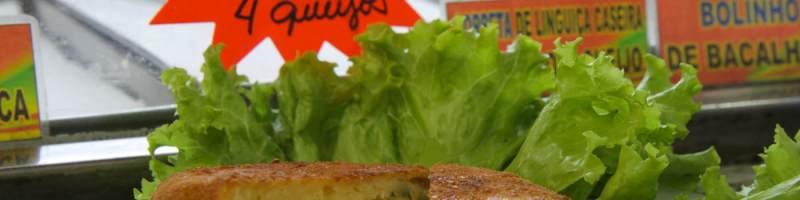 Porpeta quatro queijos do Bar do Tio (Bar do Rafa) no Mercadão de Campinas   Cumbuca Bares e Botecos de Campinas