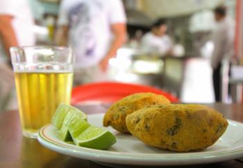 Bolinho de Bacalhau do City Bar| Cumbuca Bares e Botecos de Campinas