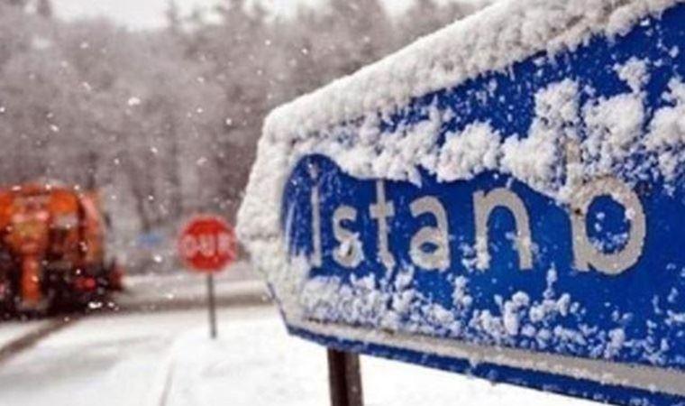 İstanbul Valiliği'nden kritik kar yağışı uyarısı